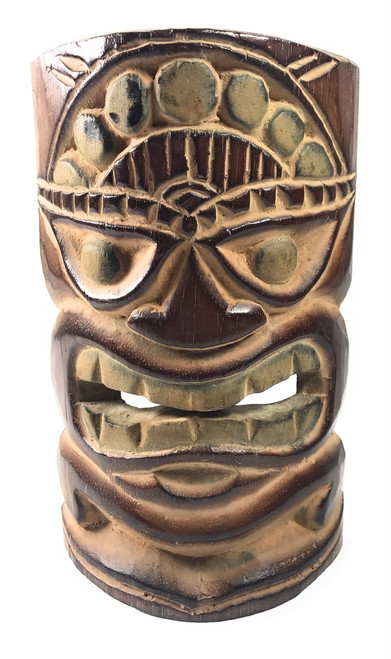 "Happiness Tiki Mask 8"" - Island Lifestyle 