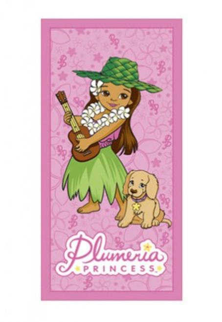 PLUMERIA PRINCESS BEACH TOWEL - BEACHWARE