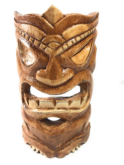 "Protector Tiki Mask 8"" - Hand Carved - Polynesian Art | #bds1202120"
