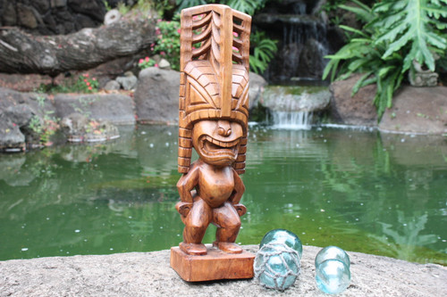 "Tiki Akua 20"" - Hawaii Museum Replica - Hawaii Heritage"