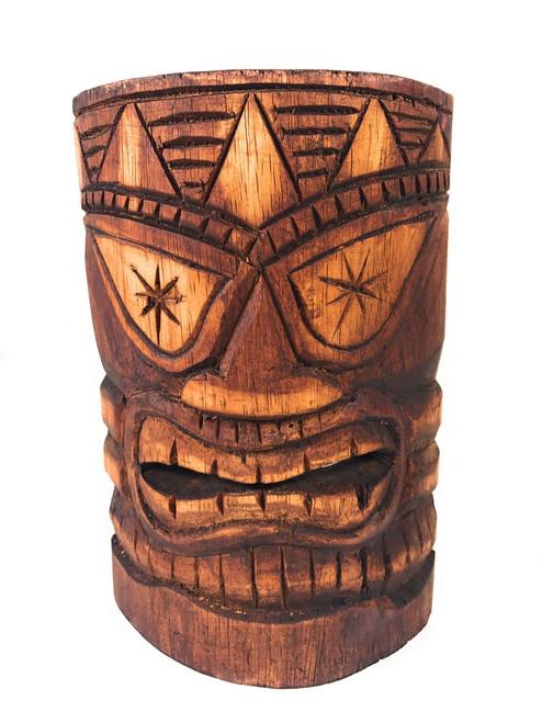 "Lucky Tiki Mask 8"" - Polynesian Art | #DPT501320"