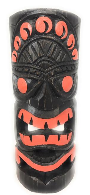 "Orange Sunset Tiki Mask 12"" - Carved/Painted   #dpt541130"