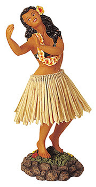 Dashboard Doll - Hula Girl Dancing