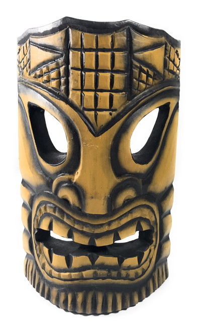 "Big Kahuna Tiki Mask 8"" - Tropical Decor 