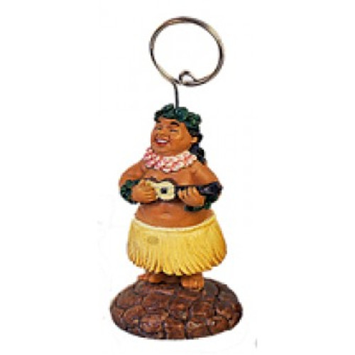 Place Card Holder - Hula Man - Picture Holder