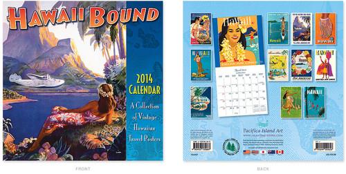 Wall Calendar 2014 - Hawaii Bound