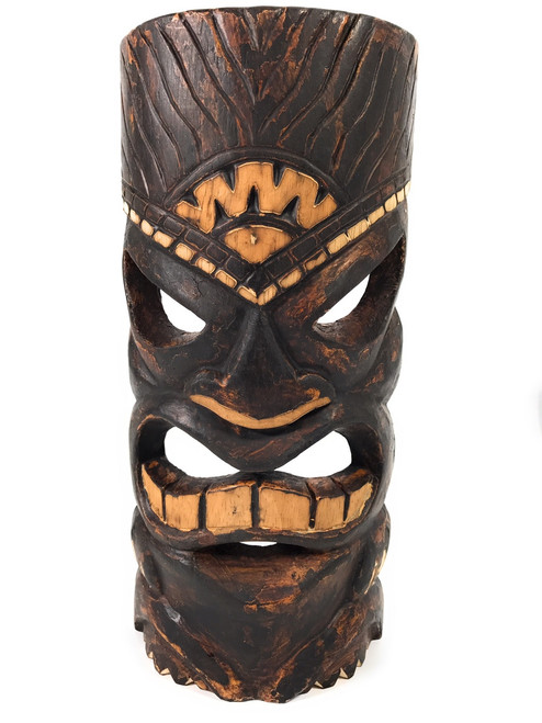 "Achievement Tiki Mask 12"" - Tropical Decor 