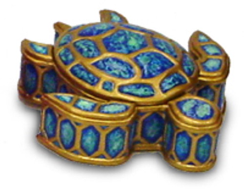 HONU JEWERLY BOX - HAND-PAINTED KEEPSAKE BOXES