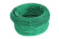 Green PVC Coated Tie Wire 16g 300' coil
