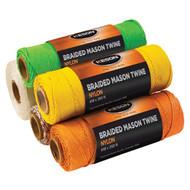 Orange Braided Mason Twine - 1000'