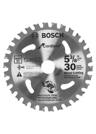 "5 3/8"" Cordless Metal Cutting Blade"