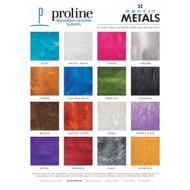 Exotic Metal Colour Chart