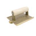"6 x 4 1/2"" Bronze Groover, 1D, 1/2W, 1/4R Wood Handle"