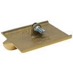 "6 x 4 1/2"" Bronze Walking Groover, Single End, 5/8D, 5/8W, 1/4R"