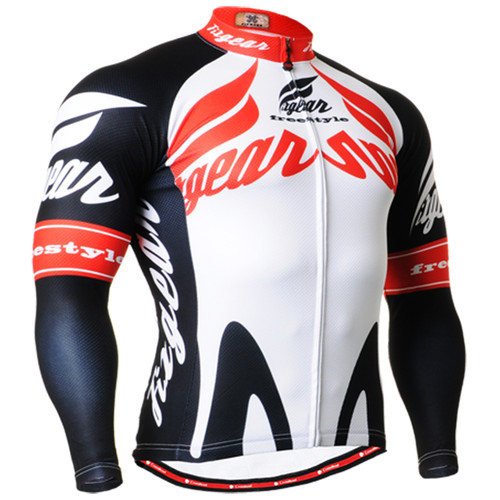 Men's Biking jerseys white shirts cycling clothes top S~3XL
