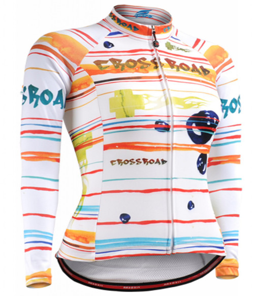 Fixgear women bike bicycle Jersey long sleeve