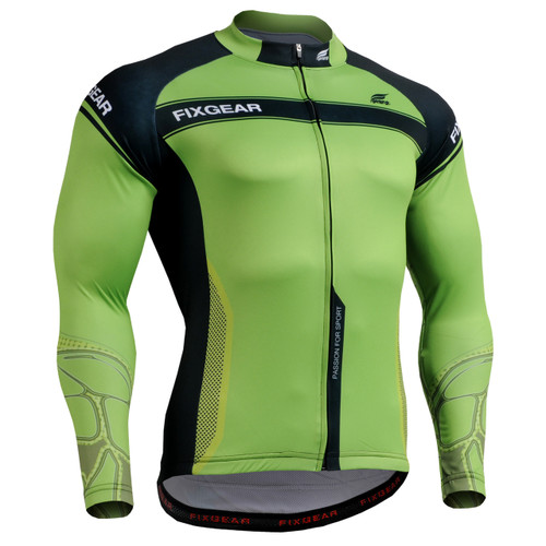 Fixgear mens cycling jersey Top Long sleeve