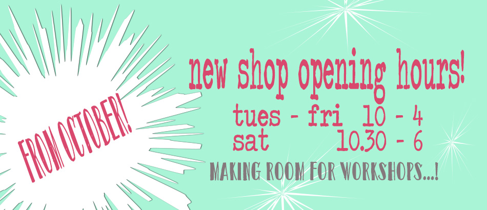 Change of Shop Opening Hours