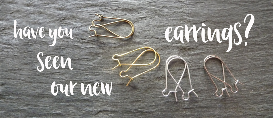 have you seen our new earrings?
