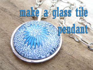 How to Make a Glass Tile Pendant