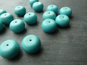 Turquoise Beads 8x14mm Drum