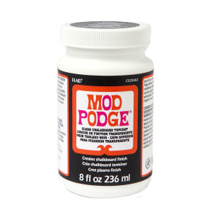 Mod Podge Clear Chalkboard Topcoat, 8 oz.