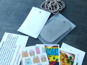 Dog Tag Necklace Mini Kit