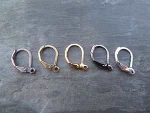 Spring-Back Earrings with Ring