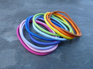 Colourful Elastic Hairbands - Pick your Colours!