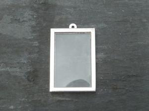 Photo Frame Pendants - Vertical Rectangles 20x30mm