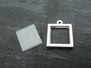 Photo Frame Pendants - Little Squares 12mm
