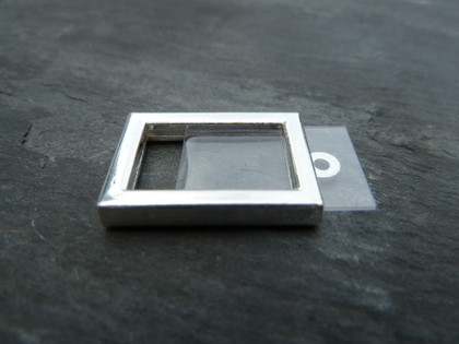 Photo Frame Pendants - Little Rectangles 10x16mm