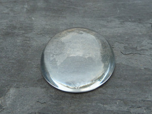 High-Domed Crystal Clear Round Glass Cabochons 30mm