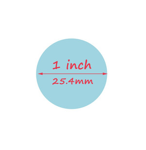 Circle Craft Punch 1in/25.4mm