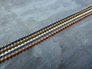 Baby Ball Chain 1.5mm 24in/60cm