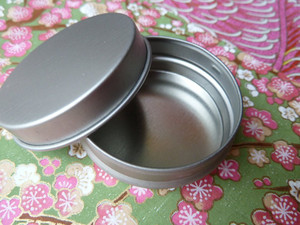 Personalisable Small Round Metal Gift Tins