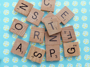 Wooden Letter Tiles - Mixed Packs - Just like Scrabble!