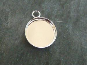Round Charm Blanks - 18mm