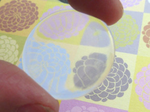 Clear Round Epoxy Stickers 15mm