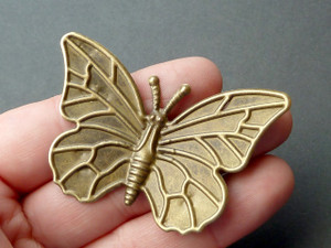 Large Bronze Butterfly