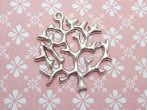 Coral Tree Pendants
