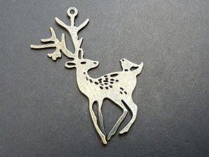 Stag and Bird Pendant