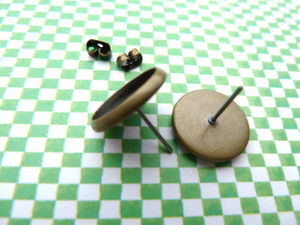 12mm Earstud Bezel Blanks