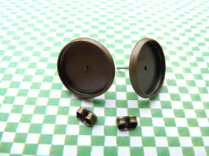 14mm Earstud Bezel Blanks
