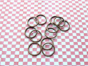 Jump Rings Vintage Copper 10x1mm