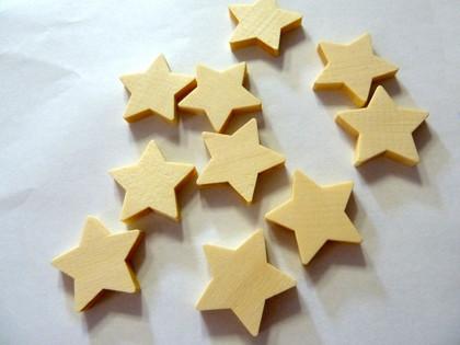 Wooden Star Tiles