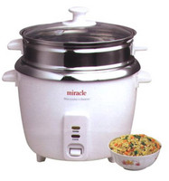 Miracle Stainless Steel Rice Cooker