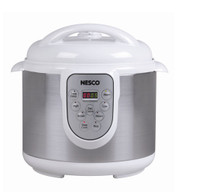 Nesco Digital Pressure Cooker 6 Liter, 4 functions in 1 Unit