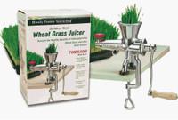 Handy Pantry Manual SS Wheatgrass Juicer - Tornado TJ