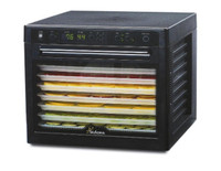 TRIBEST SEDONA SD-9000 DIGITAL RAW FOOD DEHYDRATOR, BPA-FREE TRAYS